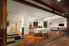Modern house interior Royalty Free Stock Photos