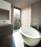 Modern house, interior, bathroom Royalty Free Stock Images