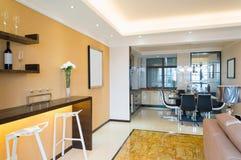 Modern house interior Stock Photo