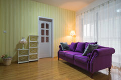 Modern house interior decoration Royalty Free Stock Images