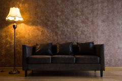 Modern house interior decoration Royalty Free Stock Photos
