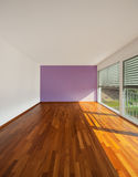 Modern house interior empty room Stock Images