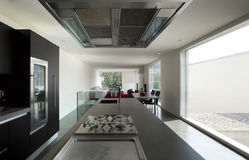 Modern house interior Royalty Free Stock Photo