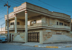 Modern house in Iraq Stock Photography