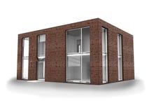 Modern house isolate Stock Photo