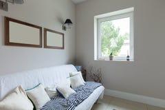 Modern house, living room Stock Image