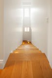 Modern house, modern corridor Royalty Free Stock Photos