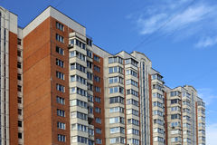 The modern house in Moscow Stock Images