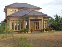 Modern house new home luxury family. Modern house new home luxury for family Royalty Free Stock Image