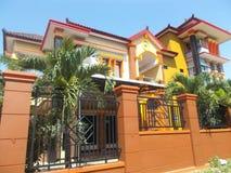 Modern house new home luxury family. Modern house new home luxury for family Royalty Free Stock Photos