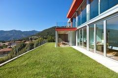 Modern house, outdoor Stock Photos