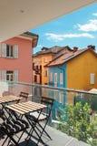 Modern house, outdoor, balcony Royalty Free Stock Photography