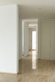 Modern house, passage view Royalty Free Stock Photography