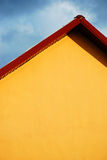 Modern House - Roof Detail Stock Photography