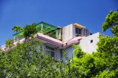 Modern house Shenzhen China Futian district royalty free stock photography