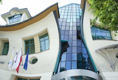 Sopot Town Modern Architecture. The modern house in Sopot, the largest resort town in Poland Royalty Free Stock Photos