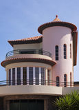 Modern house. Royalty Free Stock Photo