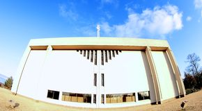 Modern House of Worship Stock Images