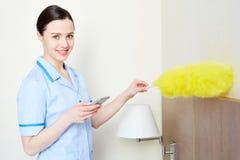 Modern housekeeper Royalty Free Stock Photos