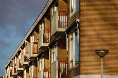 Modern houses Stock Image