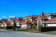 Modern houses Royalty Free Stock Images