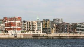 Modern houses skyline Royalty Free Stock Image