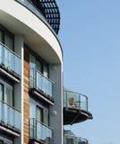 modern housing Royaltyfria Foton