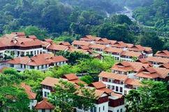 modern housing Arkivfoto