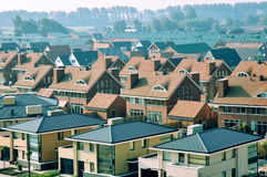 Modern housing estate Stock Images