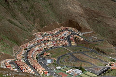 Modern Housing Estate, Canary Islands, Spain Royalty Free Stock Photo