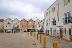 Modern Housing Estate in England Stock Images
