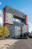 Modern housing in Madrid by MVRDV stock photo