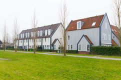 Modern housing in the netherlands Royalty Free Stock Image