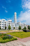 Modern Housing Project in Malmo Sweden. Modern Housing Project with Public Park in Malmo, Sweden, Scandinavia Stock Photos