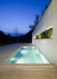Modern huis Stock Afbeeldingen
