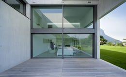 Modern huis Stock Afbeelding