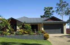 Modern Huis Royalty-vrije Stock Afbeeldingen