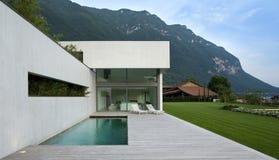 Modern huis stock foto