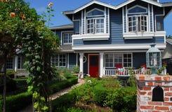 Modern Huis in de Westelijke V.S. stock afbeeldingen