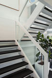 Modern huis, trap Royalty-vrije Stock Afbeeldingen