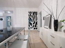 Modern huisbinnenland Royalty-vrije Stock Foto