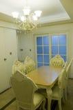 Modern huisbinnenland met meubilair Royalty-vrije Stock Afbeelding