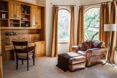Modern huisbureau Royalty-vrije Stock Foto