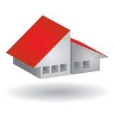 Modern huispictogram Vector Illustratie