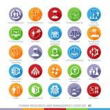 Modern Human Resources set 01 Royalty Free Stock Photo