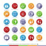 Modern Human Resources set 03 Royalty Free Stock Image
