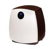 Modern humidifier isolated. On the white background stock image
