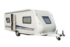 Modern husvagn Royaltyfria Bilder
