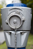 Modern Hydrant outdoors. Close-up Royalty Free Stock Image