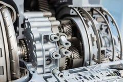 Modern hydromechanical växellåda automatisk överföring arkivfoto